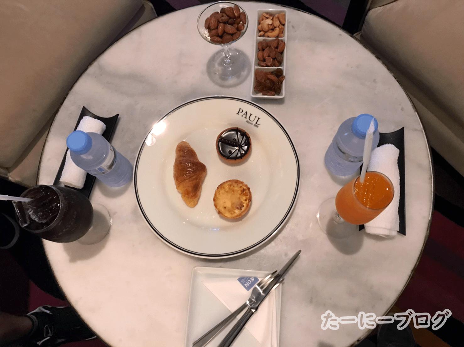 映画VIP食べ物とドリンク