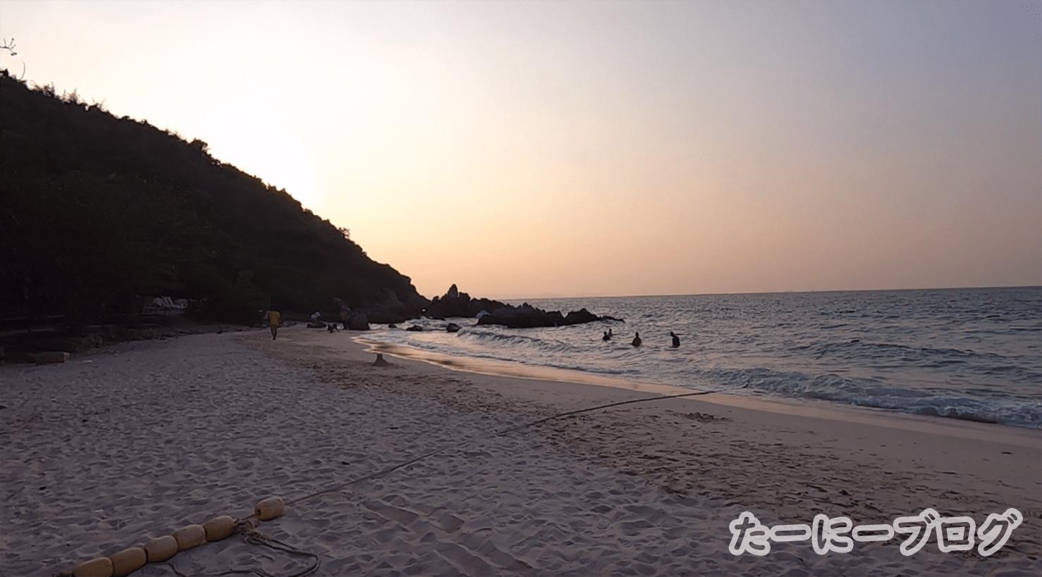 ラン島タヤイビーチ