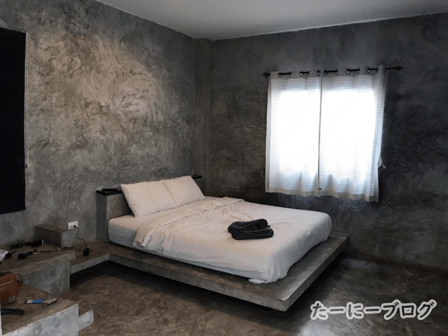 ラン島ホテル部屋1