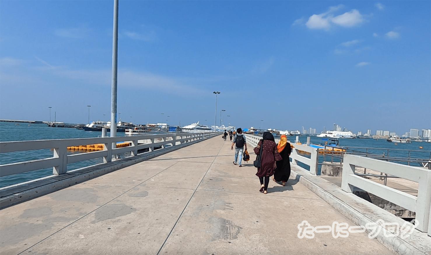 ラン島マリン桟橋